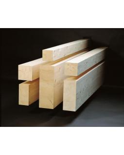 Клееная балка деревянная 80х80