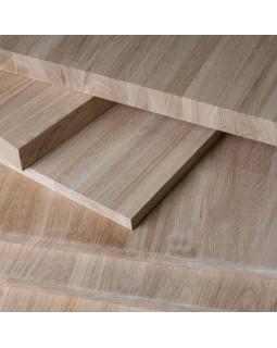 Мебельный щит, цельноламельный, Кавказский Дуб 40х300х3000