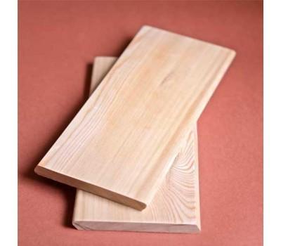 Планкен из лиственницы 20х90 сорт Прима (скошенный)