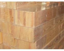 Клееный брус лиственница 80х80 сорт А