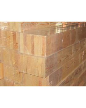 Клееный брус 100х100 лиственница сорт А