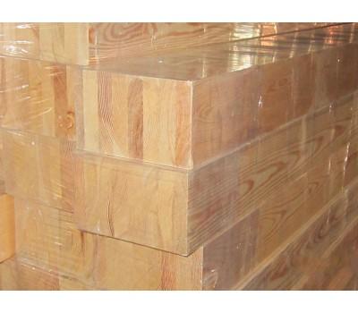 Клееный брус 80х80 лиственница сорт А