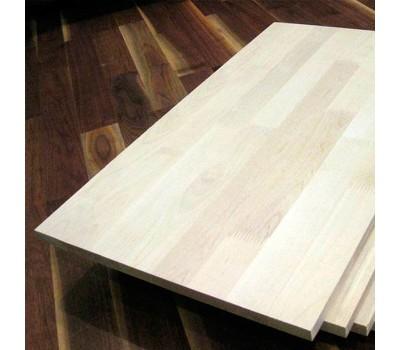 Мебельный щит лиственница сорт А, 40мм